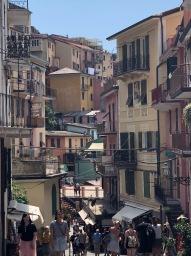 Beautiful narrow streets.