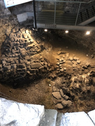 The Viking excavation.